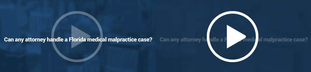 Can any attorney handle a Florida medical malpractice case?