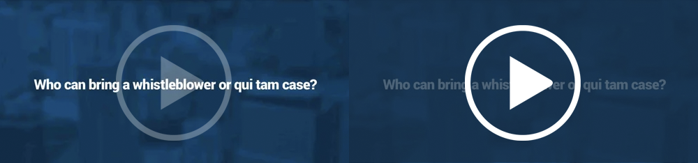 Who can bring a whistleblower or qui tam case?