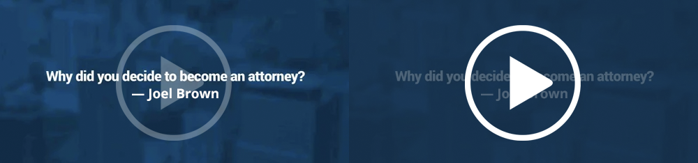 Why did you decide to become an attorney? – Joel Brown